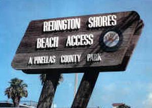 redington shores beach accesss