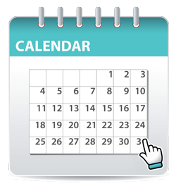 click to see events calendar
