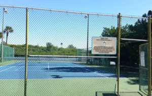 Redington Shores Tennis Court