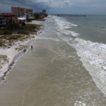 Redington Shores Beach high tide